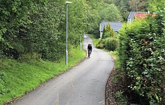 Fra Klemetsrud til Skulleruddumpa på sykkel. Trygg og lett innfart til Oslo sørfra