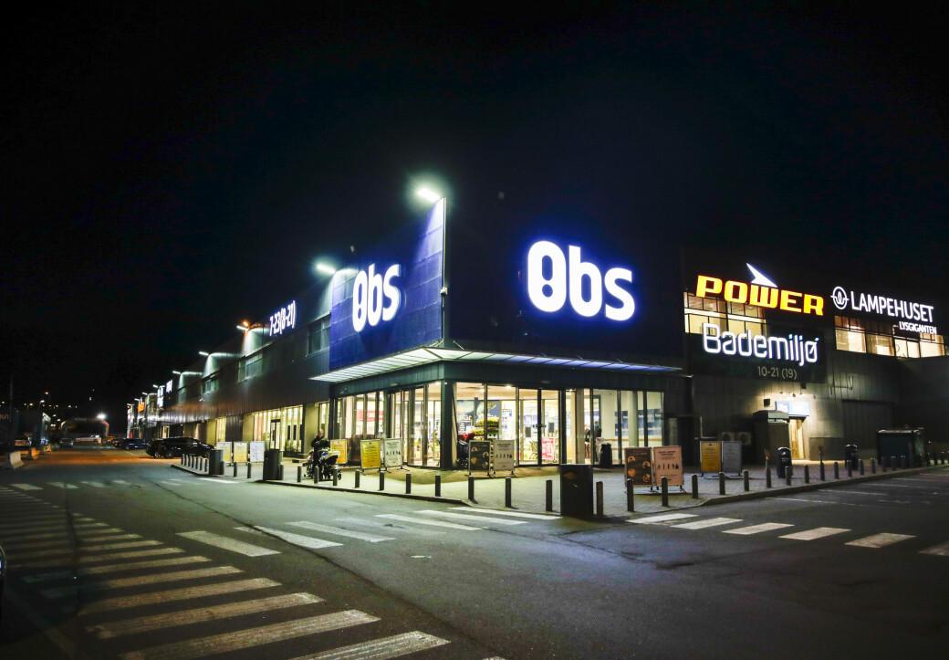 Coop Obs på Alnabru er et populært sted å storhandle fordi det er så enkelt tilgjengelig med bil og har god parkering.