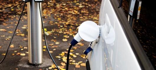 Splitter ny elbil tok fyr under lading utenfor bolig på Lilleaker
