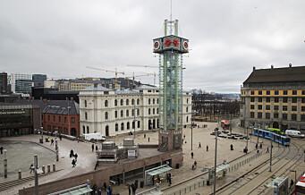 Person tok seg til toppen av Ruter-tårnet i Oslo