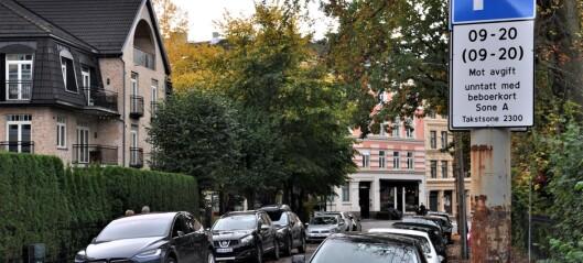 150 nye parkeringsplasser reservert til bildeling i Indre Oslo. — Vi må gjøre det lettere å ikke eie egen bil, sier Lan Marie Berg