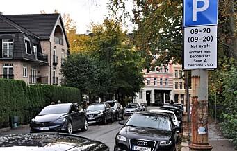 - Årets budsjett viser at byrådet vil flå bilistene uansett biltype