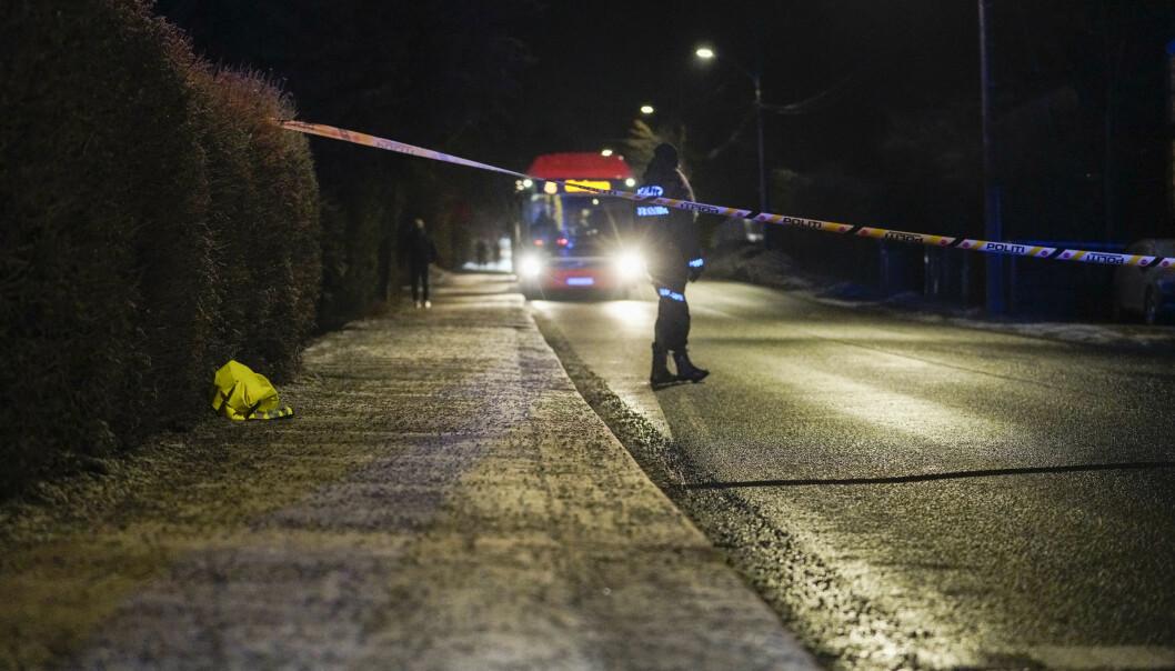 Et barn omkom i en trafikkulykke på Slemdal på ettermiddagen 13. januar.