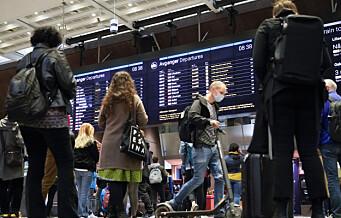 Oslo S rammes av vekterstreiken