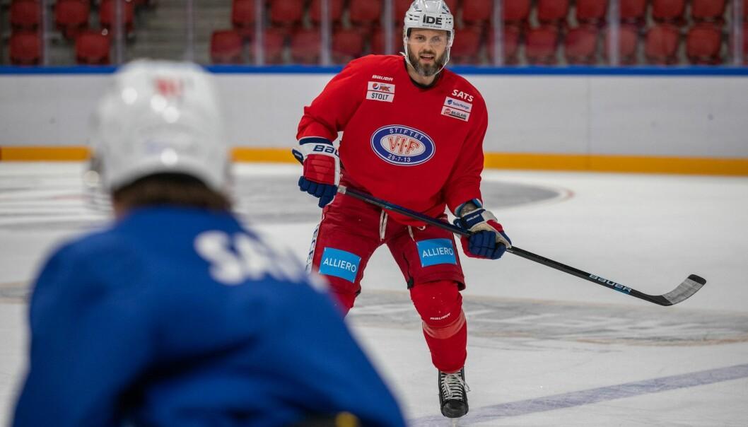 Vi håper på en frisk og rask Daniel Sørvik ut sesongen.