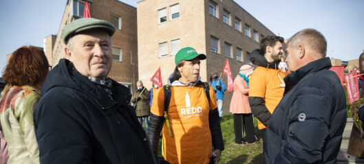 Sykehusstriden i Oslo: Storprotest mot planlagt riving av deler av Rikshospitalet