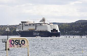 Kiel-ferja kutter igjen i avganger fra Oslo. Folk får ikke gå i land i Tyskland