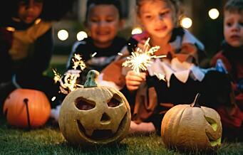 Knask fra pølseklype eller smittevernvennlige knep? Her er gjeldende reglene og påbud for alle som ønsker å feire Halloween på lørdag