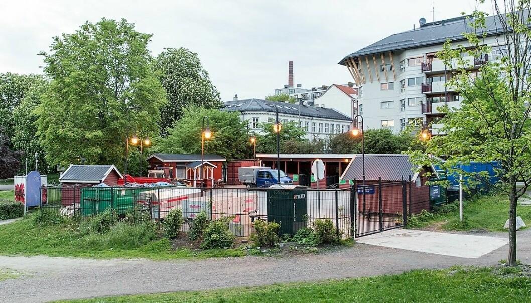 Oslo Venstre foreslår at Oslo kommune starter med et prosjekt for mer brukervennlige levering av avfallet på Grünerløkka.