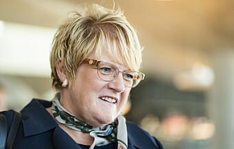 Trine Skei Grande får politisk karantene mot verv som styreleder for stiftelsen Oslo Middelalderby