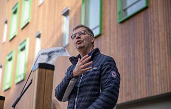 Solfjellhøgda helsehus på Ryen er verdens mest moderne, mener byråd Robert Steen