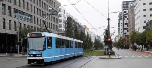 Gamlebyen mistet buss og trikk. Beboerne føler at Bjørvika blir prioritert framfor Gamlebyen