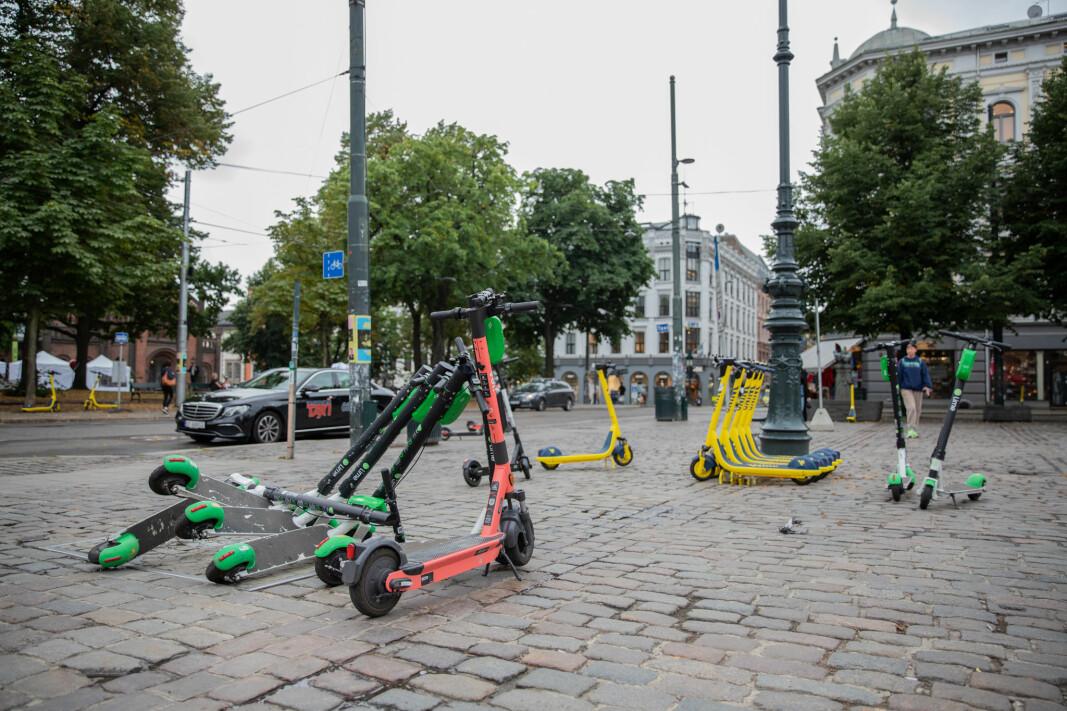 Neste år kan utleie av el-sparkesykler i Oslo havne på anbud.