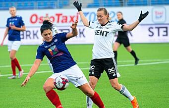 Vålerenga damer møter færøysk motstand på veien mot kvartfinale i Champions League