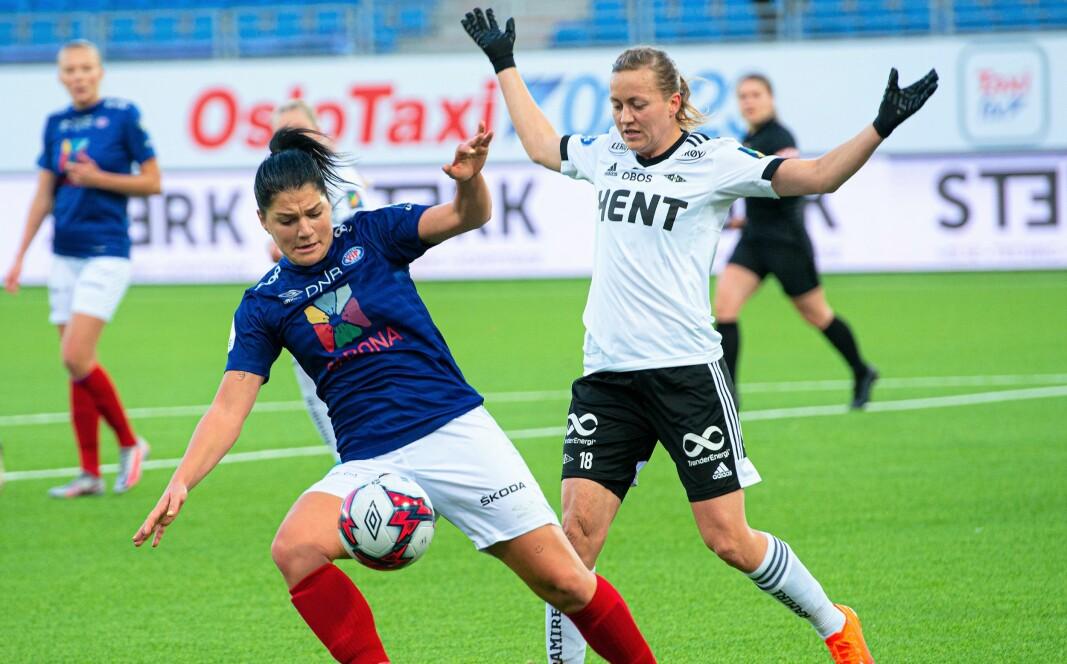 Dejana Stefanovic og Vålerenga møter FK Klaksvik i kvalifiseringsspillet til Champions League.
