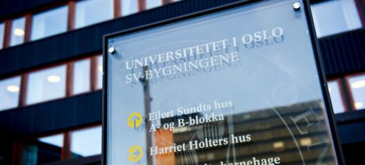 Miljøsjefen ved Universitetet i Oslo slutter i protest