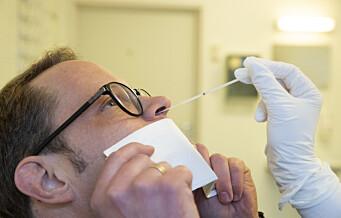 Helsemyndighetene prøver ut hurtigtester i Oslo