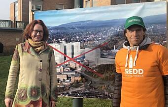 – Oslo Universitetssykehus vurderer å rive deler av Rikshospitalet. De overkjører lokaldemokrati og fagforeninger