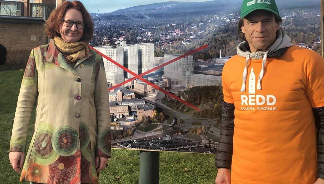Denne uken skal styrene i både Oslo Universitetssykehus og Helse Sør-øst møtes og fatte viktige beslutninger om neste fase i utviklingen av Oslo-sykehusene. På bildet Bjørg Sandkjær og Jan Bøhler, begge fra Oslo Senterparti.