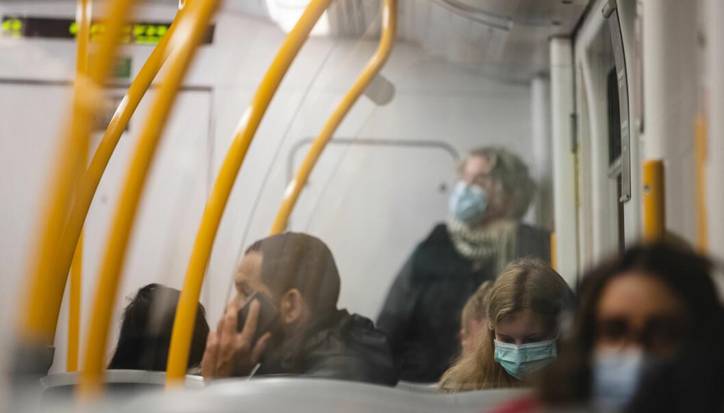 Da påbud om munnbind for alle reisende med kollektivtransport ble innført lå smittetallene i Oslo langt lavere enn det som er registrert de siste fem dagene.