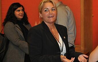 Cecilie Lyngby kan bli ny partileder i FNB dersom Frode Myrhol vrakes på landsmøte