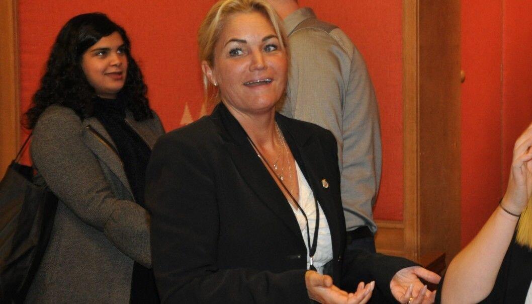 — Hvis landsmøtet ber meg om det, vil jeg plukke opp hansken, sier Cecilie Lyngby.