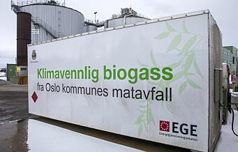 Oslo kommunes biogassanlegg med årlig underskudd på over 100 millioner kroner