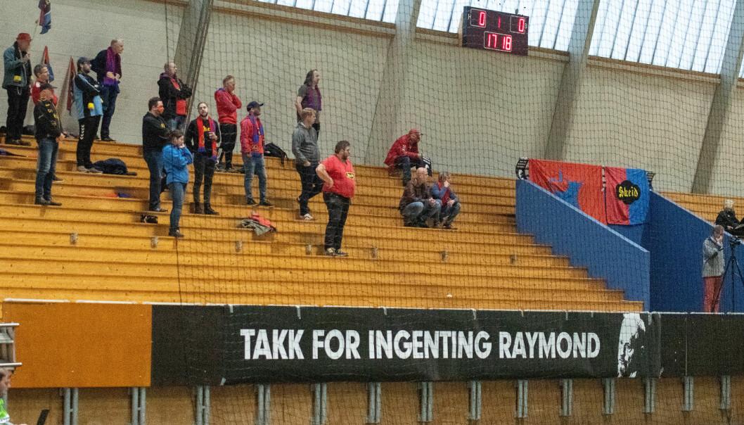 Klar og tydelig beskjed fra de frustrerte Skeidoksene til byrådslederen i Oslo - Raymond Johansen (Ap).
