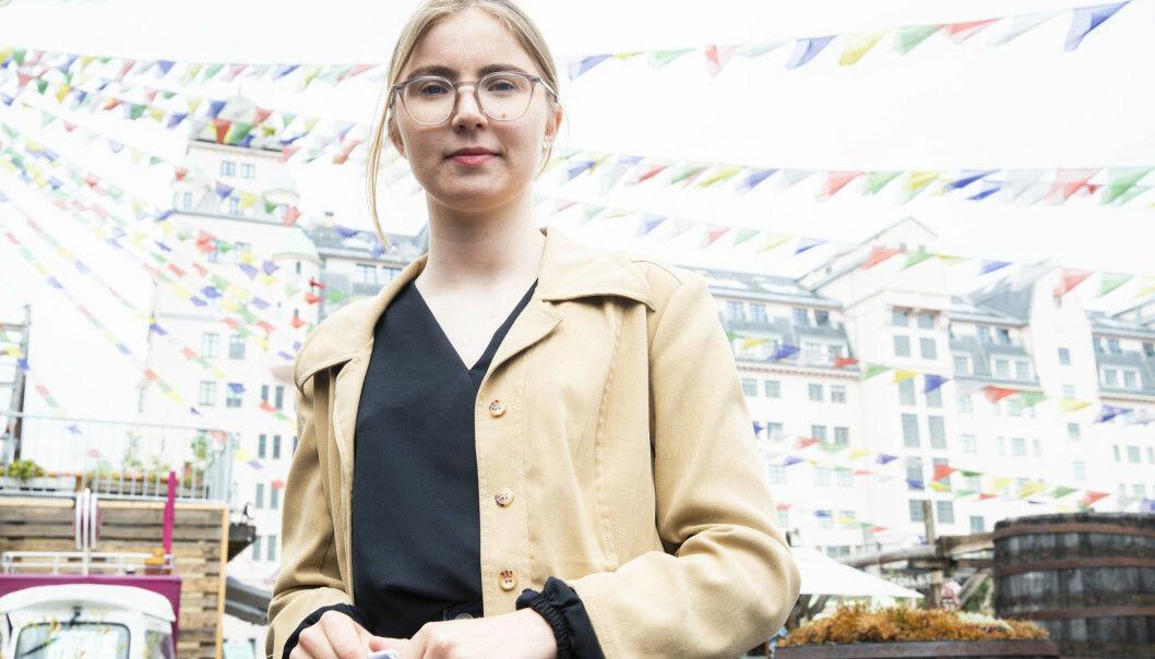 21 år gamle Hulda Holtvedt ligger an til å kapre andreplassen på MDGs stortingsliste ved valget neste høst.