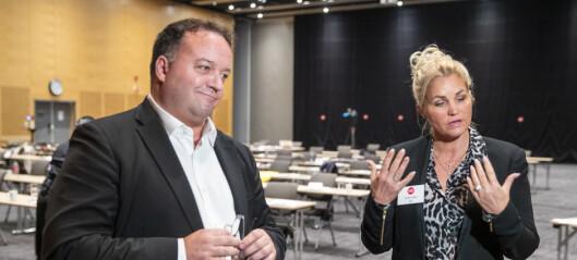 FNB-strid avblåst: Cecilie Lyngby og Frode Myrhol deler jobben som partileder