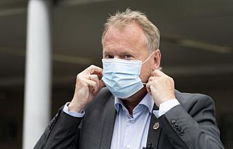 Påbud om munnbind kan bli utvidet. Raymond Johansen med nye koronatiltak oslofolk må følge