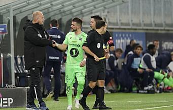 Flamur Kastrati kalte VIF-trener Fagermo «jævla soper» og forsvarte uttalelsen i pausen