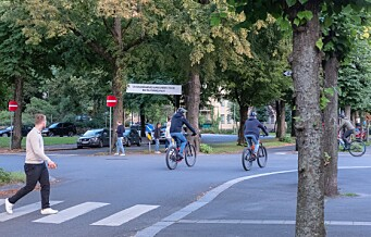 Sykkeltrafikk i Oslo vokser kraftig: Økte med over 41 prosent i høst