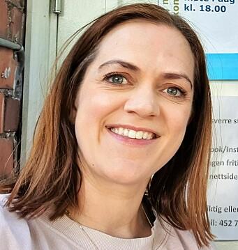 Leder for foreldreutvalget ved Sofienberg skole Helen Rist er bekymret over at det ikke finnes økonomiske midler for den langsiktige planleggingen rundt skolegården på Sofienberg.