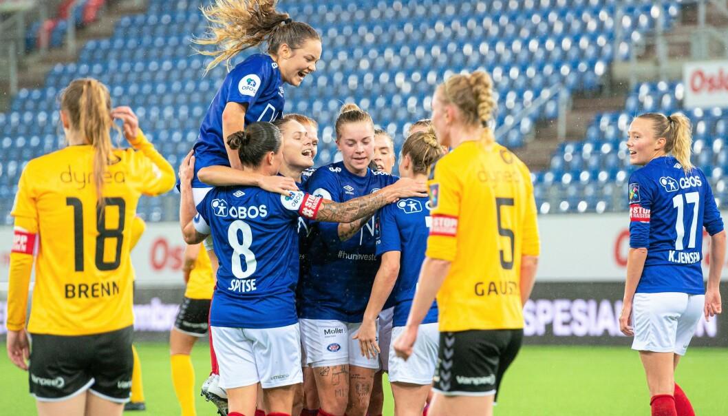 Vålerenga-toget dundrer videre mot seriegull. Søndag ble erkerival Lillestræm sendt hjem til Romerike med et 4-2-tap.