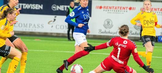 Treningsstopp for toppfotballen i Oslo-regionen. VIF håper på Champions League