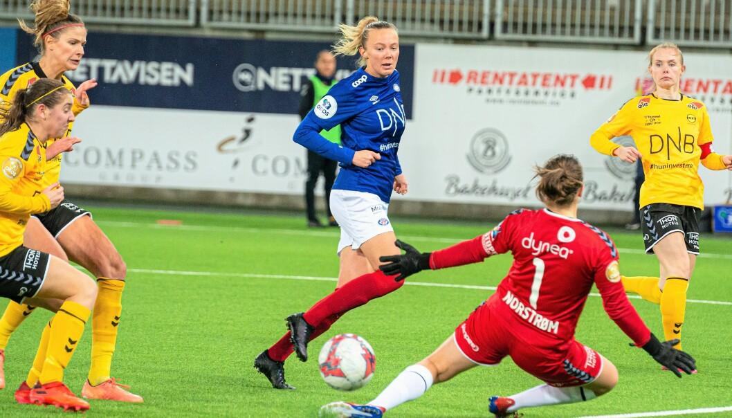 Vålerengas kvinnelag har avlyst kommende treningskamper mot Øvrevoll Hosle og Kolbotn. Begge skulle vært spilt i Vallhall.