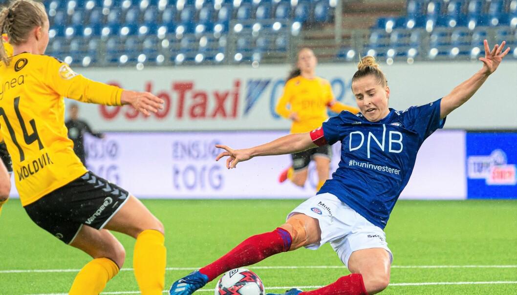 Sigrid Heien Hansen mener Vålerenga er det nye lokomotivet i norsk damefotball.