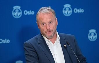 Økt koronasmitte i Oslo: - Det blir vanskelig å unngå smitte blant eldre, sier Raymond Johansen