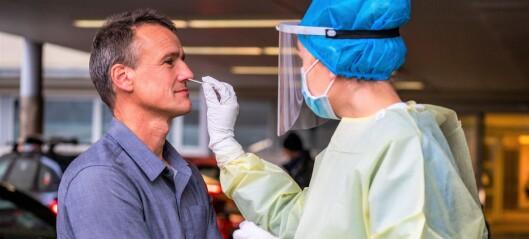 Koronasvar på 15 minutter – nå starter utprøving av hurtigtester på Aker teststasjon