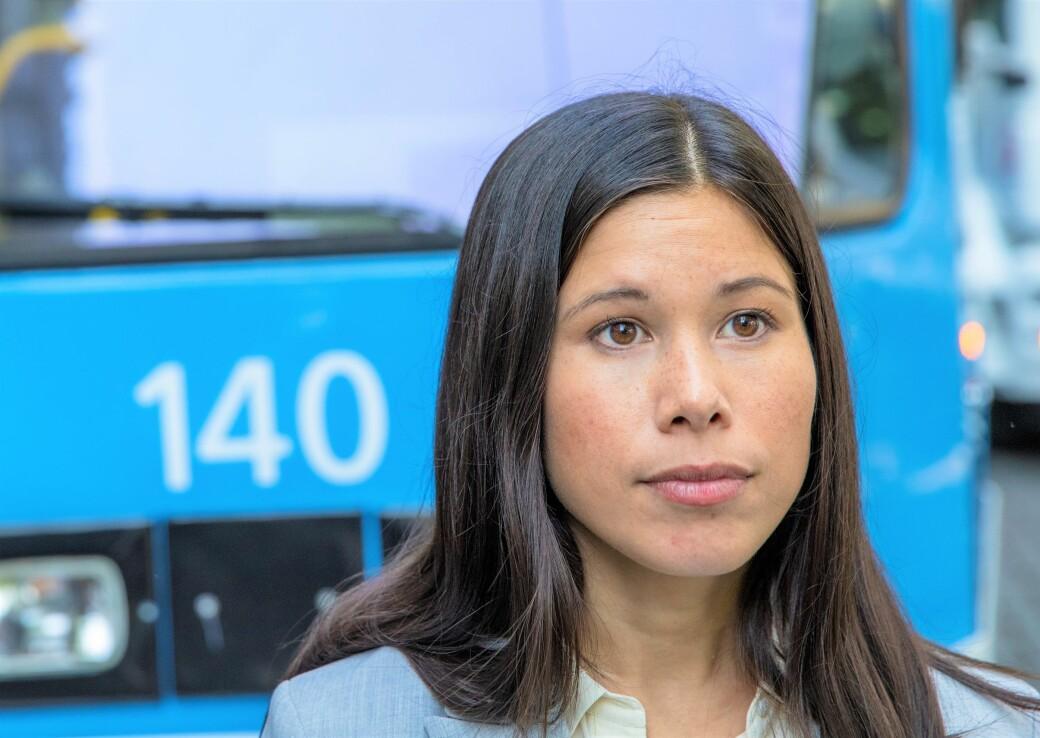 — Nå er det ikke økonomisk handlingsrom for en totalrehabilitering av trikkeinfrastrukturen i Schweigaards gate, sier Lan Marie Berg (MDG).