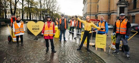 – Vi trenger alle noe å fylle dagene med: Disse personene har uoffisiell rekord i snus- og sneiplukking i Oslo
