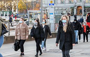 Ny smittetopp i Oslo. 161 nye smittede registrert siste døgn