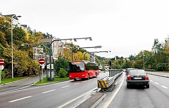 Påbud om hjemmekontor førte til mindre trafikk til og fra Oslo