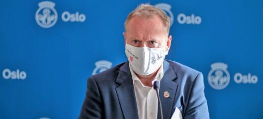 Raymond Johansen avviser at Oslo burde stengt ned før: – Tullete