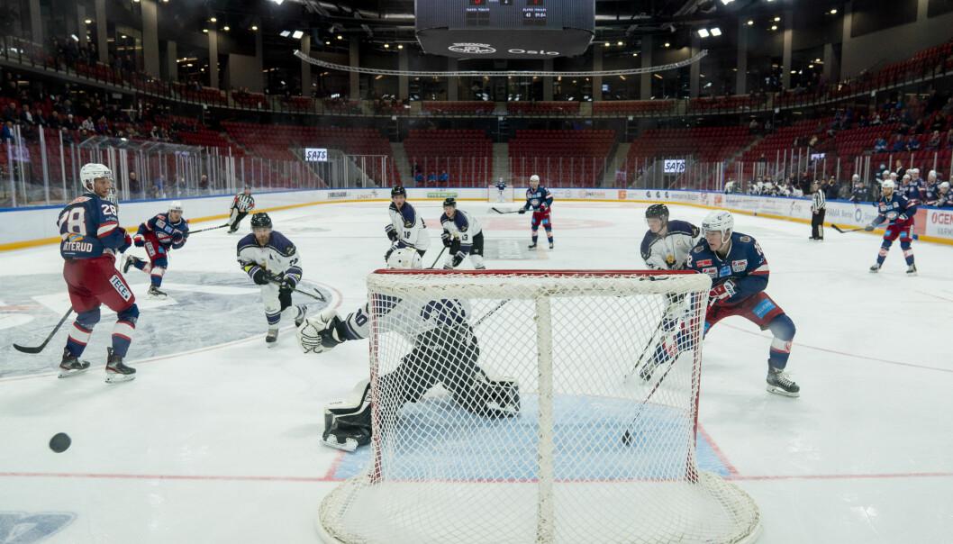 Det kan bli en stund til Oslos hockeypublikum igjen kan få se Vålerenga eller Grüner live. Fra tirsdag blir det ikke tillatt med tilskuere på kamper i Fjordkraftligaen her i byen.