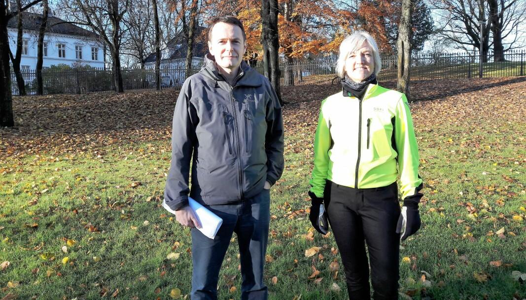 Fortidsminneforeningens Sten Sture Larre og Bygdøy vels Pia Falk Lind er blant dem som har samlet trådene, og utarbeidet et konkret forslag til sykkel- og gangvei på Bygdøy