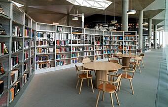 Deichman stenger alle bibliotekene fra lørdag og inntil videre