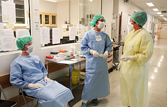 Ansatte ved Ullevål sykehus og Rikshospitalet er koronasmittet. Kolleger og pasienter satt i karantene