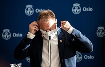 Rekordmange registrert smittet i Oslo siste døgn. 203 nye personer med korona